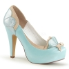 BETTIE - 20 Blue/Taupe Faux Leather